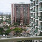 Vista para o condomínio onde o Hotel está localizado.