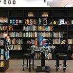 Bookshelves at Sandman Books