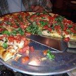Dominic's terrific Margarita Pizza!