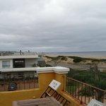 Depuis le balcon, en regardant vers Manantiales à l'est
