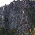 Devils Rock 300 feet above Lake Temiskaming