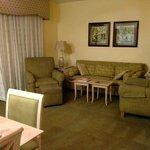 Living Room in 2 bedroom suite