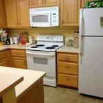 Kitchen in 2 bedroom suite