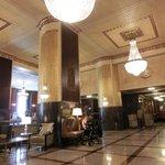 bright lobby