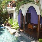Villa com piscina privativa