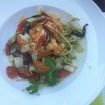 Good fresh seafood salad