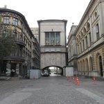 Dinamarca, Copenhague. Teatro Real. Edificio costado poniente.