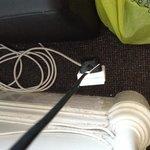 Hanging plug socket