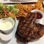 Steak and ribs....yummiest!