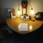 Mesa de leitura e estudos