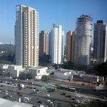 Vista da Av 23 de maio, bem próxima ao hotel