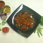 Kerela, Stir Fry , Dry Dish , With Side Souce