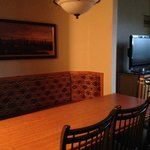 Dining table in one bedroom condo