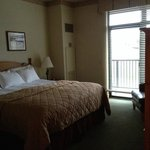 King bed in one bedroom condo