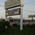 Sign for Rodini's