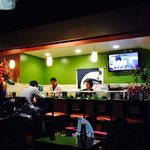 the sushi bar