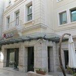 Exterior of Hotel Levni