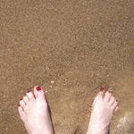 MY feet love the water