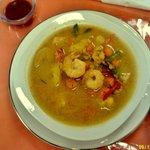 Home made Shrimp soup.
