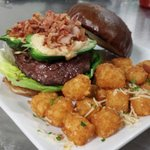 Bacon jalapeño popper kobe burger