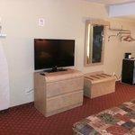 TV, Dressers & Mini-fridge