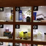 Samples of every element on the Chemistry floor of Baker Center