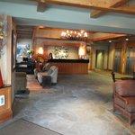 hotel reception