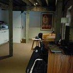 seating area / kitchen