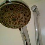 Encrusted shower-head