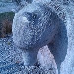 Bear at Tout Sculpture Park