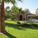 piscine privative et jardin de rêve