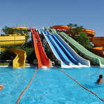 Water Slides in the Hotel