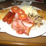 Full Irish breakfast was delicious