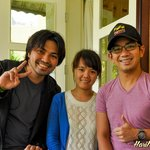 With Linh, our host in Hoang Loc Villa Hotel
