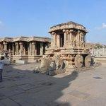Stone Chariot, Vijaya Vittala Temple, Hampi