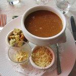 Rock fish soup