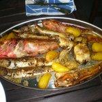plat de poisson pour Bouillabaisse