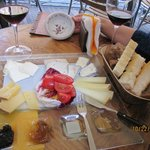 Selection of 5 Italian cheeses