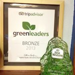 Green Award from Best Western and Tripadvisor