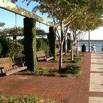 Beaufort walking pier minutes from hotel