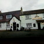 The white horse in Waterbeach