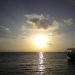 Sunset at Embudu