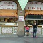 local ice-cream shop