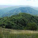 Aussicht vom Kolovrat nach Süden