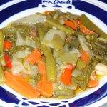 El suave y delicioso escabeche de verduras