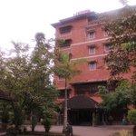 Main resort building