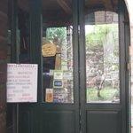 Entrance to La Fontanella