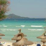 La maravillosa Playa de Muro esta pegadita al hotel