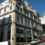 Hotel da Bolsa na cidade do Porto.