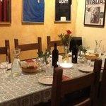 dinner at san gennaro B&B